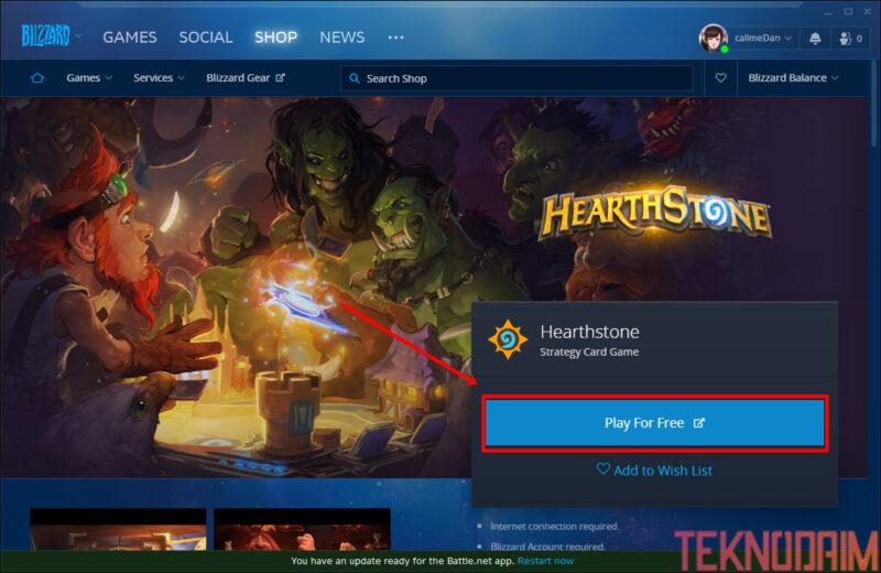 Cara Download Game di Laptop, Play For Free Untuk Mendownload Game