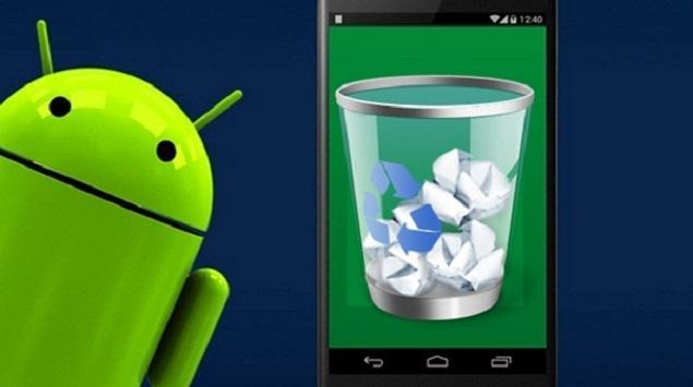 Cara Menambahkan Recycle Bin Android