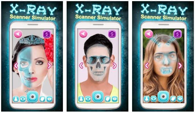X Ray Scanner Simulator