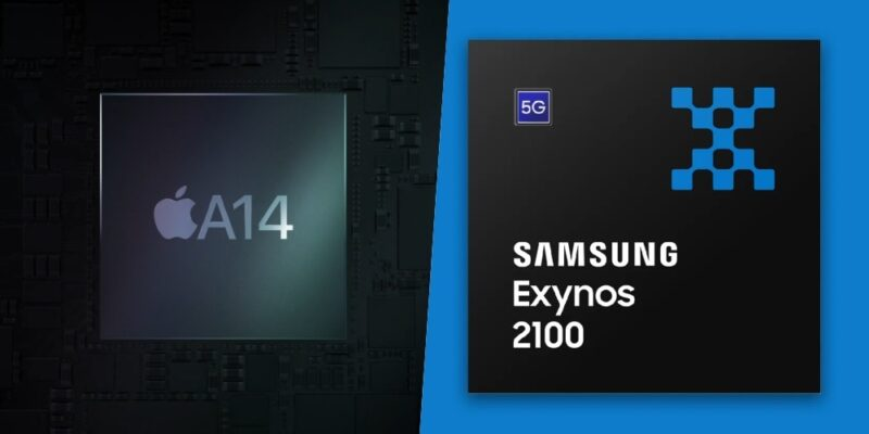 Chipset Exynos 2100 Vs A14 Bionic