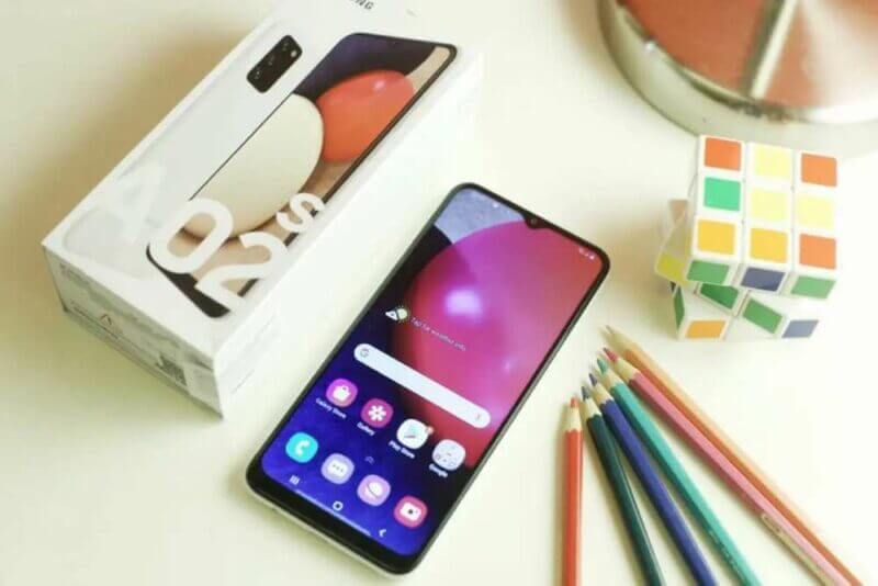 Perbedaan Samsung A12 Dan A02s 8
