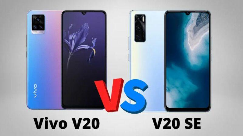 Perbedaan Vivo V20 Vivo V20 2021 Dan V20 Se 8