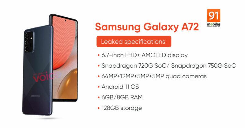 Samsung Galaxy A72 2
