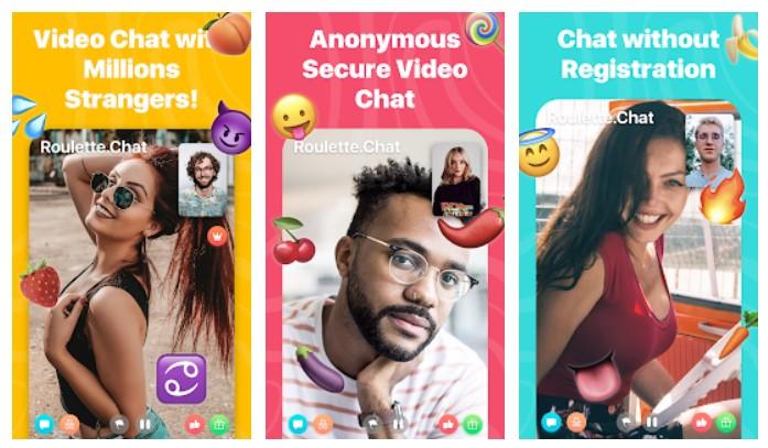 Download Roulette Video Chat Random Omegle Strangers Online