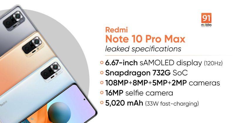 Xiaomi Redmi Note 10 8