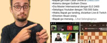 Kronologi Kasus Gothamchess Dengan Pencatur Asal Indonesia