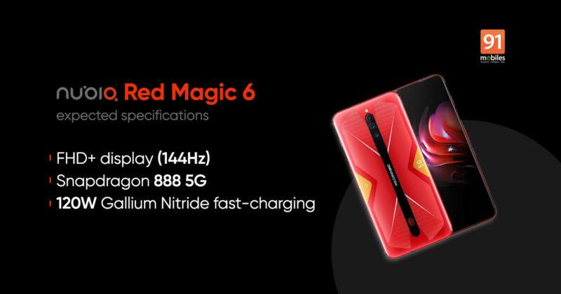 Harga Nubia Red Magic 6