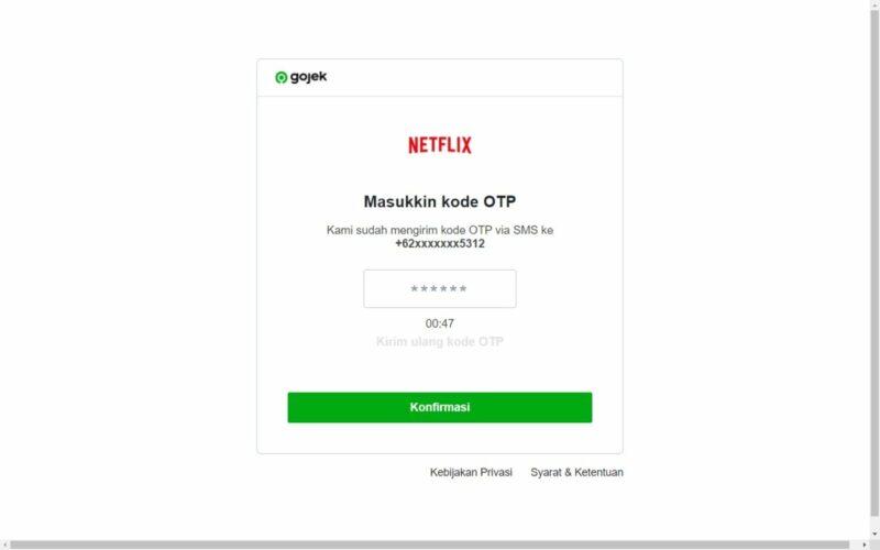 Cara Bayar Netflix Dengan DANA