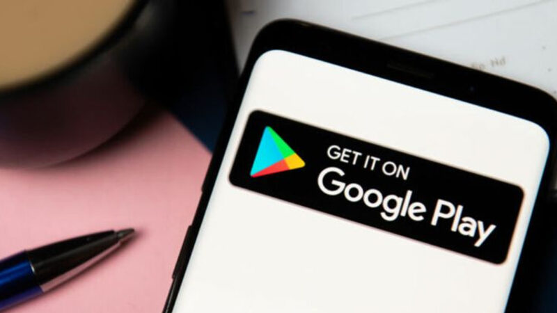 Ilustrasi Google Playstore