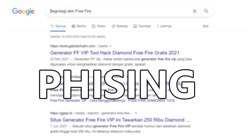 Phising Free Fire