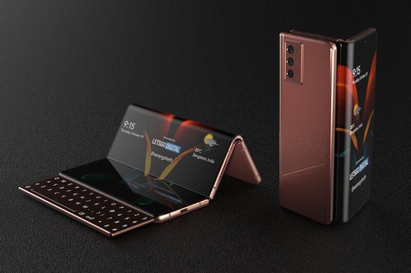 Bocoran Samsung Galaxy Z Fold 3