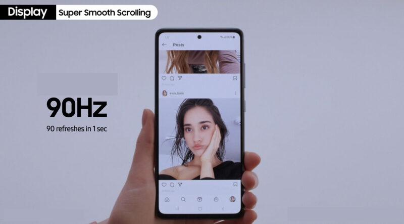 Spesifikasi Samsung Galaxy M22