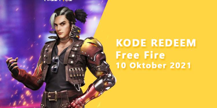 Kode Redeem FF 10 Oktober 2021